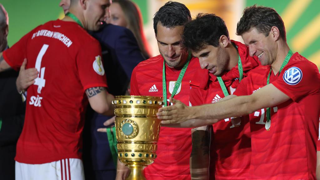 Der FC Bayern München gewann das Endspiel gegen RB Leipzig mit 3:0