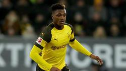Dan-Axel Zagadou steht seit 2017 beim BVB unter Vertrag