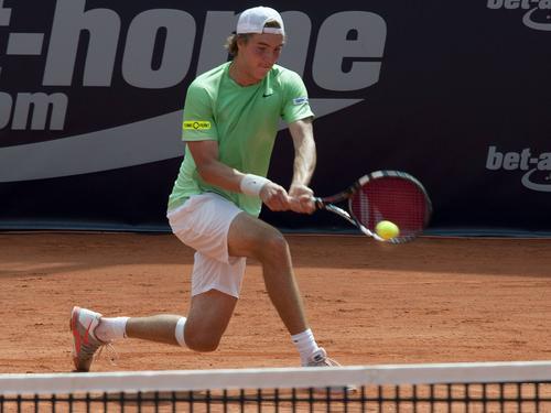 Jan-Lennard Struff hat in Antwerpen das Viertelfinale erreicht