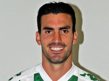 Alejandro Alfaro en una imagen de esta temporada con el Córdoba. (Foto: Imago)