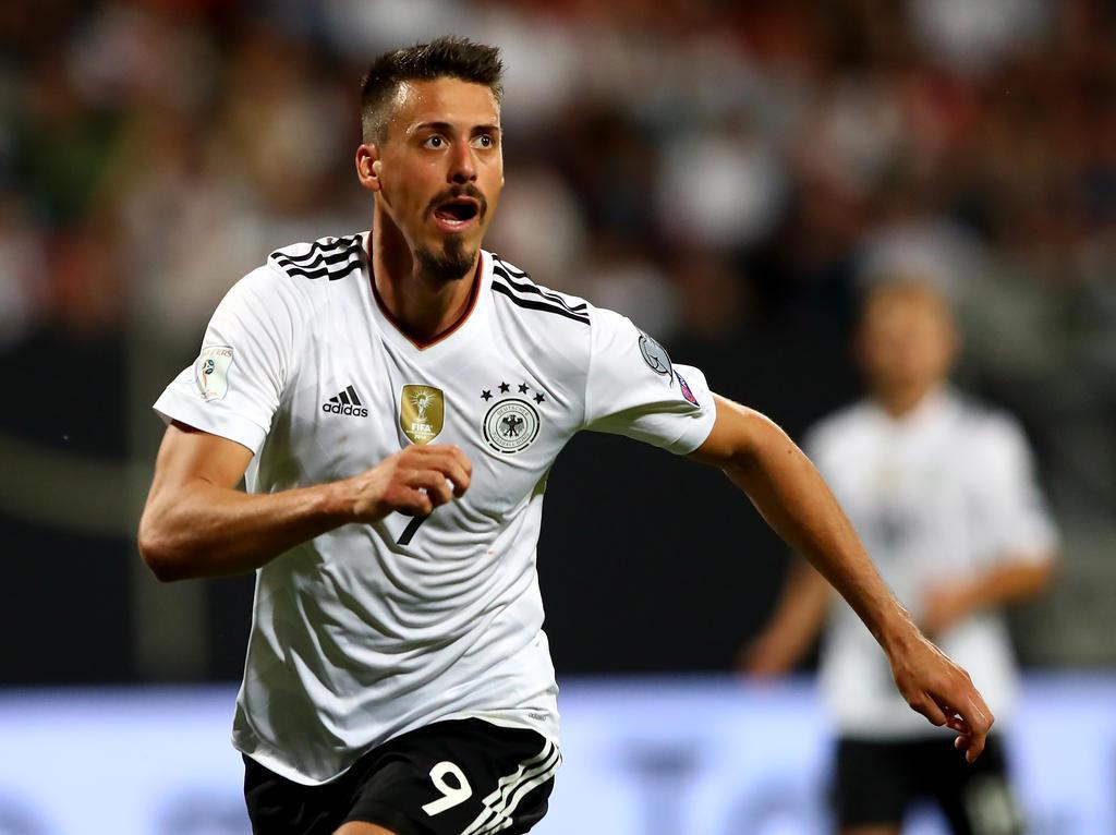 Sandro Wagner steht erneut in der deutschen Startelf