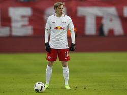 Emil Forsberg fehlt RB Leipzig auch im Ligaspiel gegen Mainz