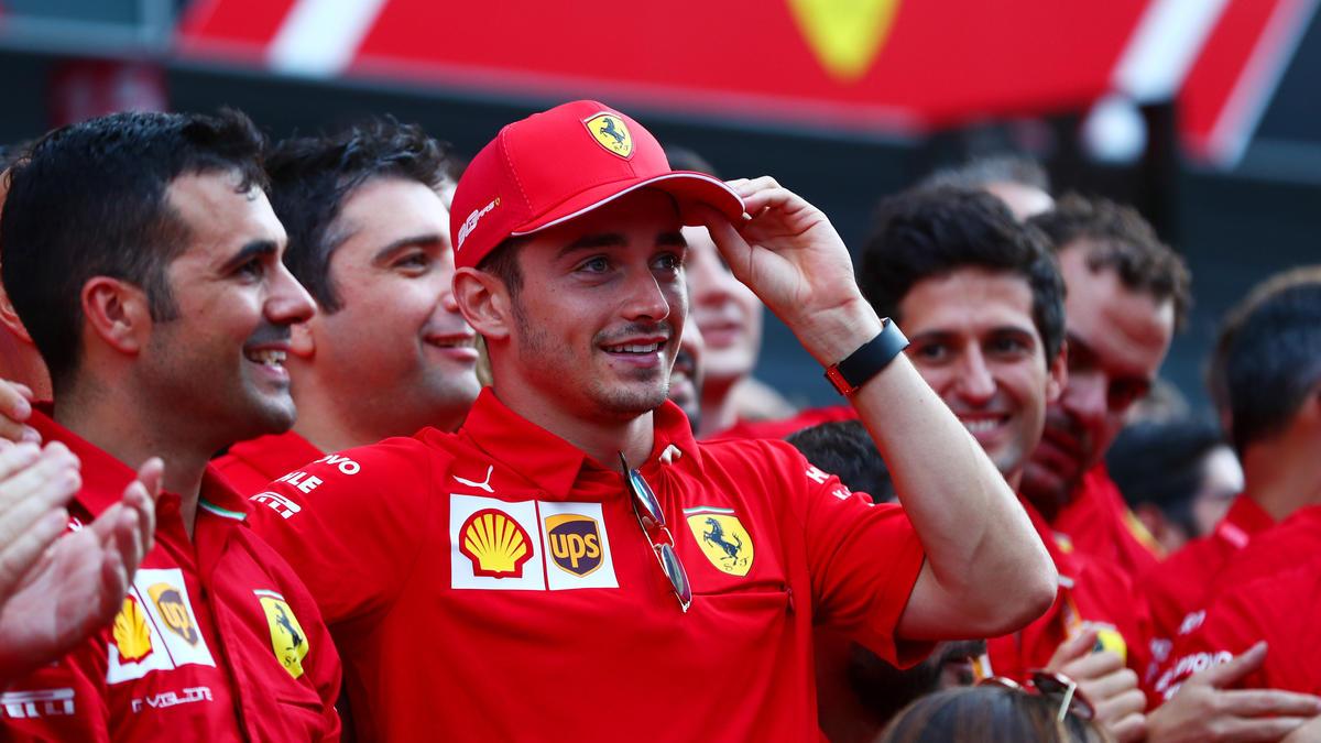 Charles Leclerc feierte in Monza seinen zweiten Formel-1-Sieg