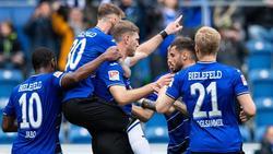 Die Bielefelder besiegten Holstein Kiel mit 2:1