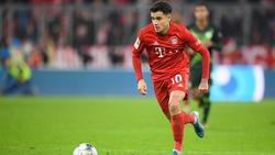 Die Zukunft von Philippe Coutinho vom FC Bayern ist weiterhin unklar