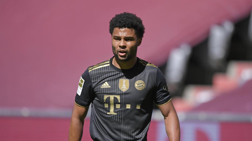 Steht noch bis 2023 beim FC Bayern unter Vertrag: Serge Gnabry