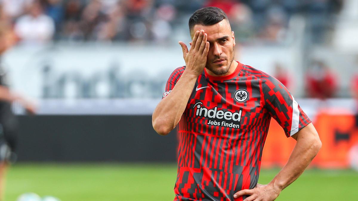 Flilip Kostic wurde bei Eintracht Frankfurt begnadigt