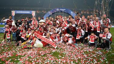 El Sporting de Braga levantó el título sobre la hierba.