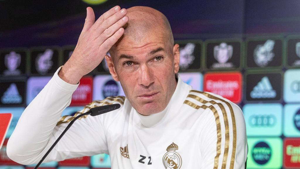 齐达内说,国家德比将决定不了冠军,Setien穿上马德里压力