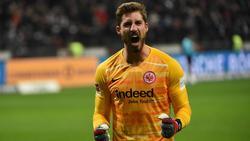 Kevin Trapp ist bei Eintracht Frankfurt der sichere Rückhalt
