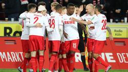Der 1. FC Köln präsentierte sich zuletzt in bestechender Form