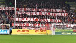 Auch in Freiburg wurde DFB-Präsident Fritz Keller kritisiert