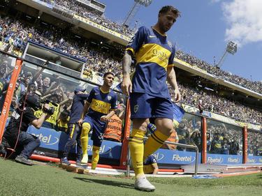 Buffarini fue uno de los goleadores visitantes.
