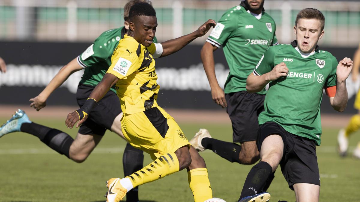 Youssoufa Moukoko hat die BVB-Jugend zum Sieg geschossen