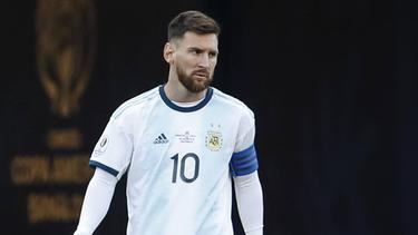 Barcelonas Superstar Lionel Messi spielt in der WM-Quali für Argentinien