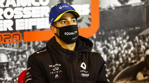 Daniel Ricciardo war beeindruckt und eingeschüchtert