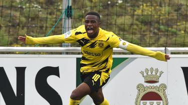 Youssoufa Moukoko erzielte drei Tore für den BVB