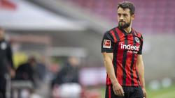 Kehrte am Donnerstag ins Frankfurter Mannschaftstraining zurück: Amin Younes