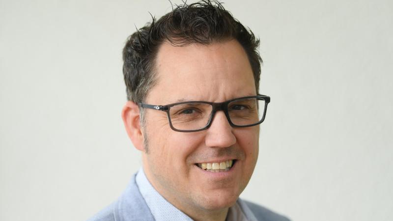Gregor Reiter, bis Ende 2020 Geschäftsführer der Deutschen Fußballspieler-Vermittler Vereinigung (DFVV)