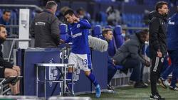 William wurde bei Schalkes Niederlage gegen Gladbach frühzeitig ausgewechselt