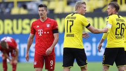 FC-Bayern-Goalgetter Robert Lewandowski ist von BVB-Youngster Erling Haaland begeistert