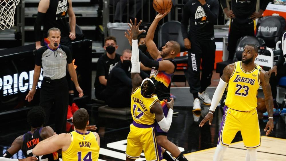 Schröder und die Lakers vor dem Aus