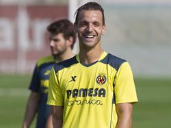 Roberto Soldado scheint sich bei Villarreal wohlzufühlen