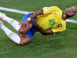 Neymar sorgt bei der WM 2018 mit Schauspieleinlagen für Aufsehen