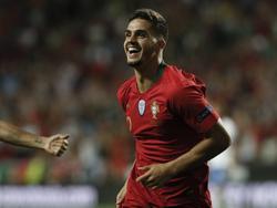 André Silva celebra su tanto contra los italianos. (Foto: Imago)