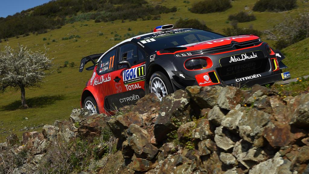 Sebastien Loeb durfte in Vorbereitung auf seinen letzten WRC-Start 2018 noch testen