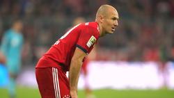 Arjen Robben fällt gegen den BVB aus
