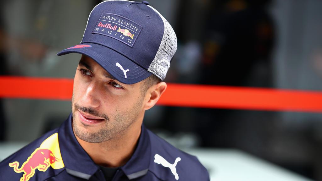 Pechsträhne: Das berühmte Lächeln will Daniel Ricciardo nicht so recht über die Lippen gehen