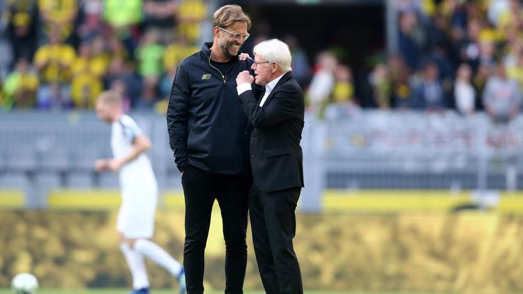 Jürgen Klopp beobachtet die Entwicklung des BVB mit großer Freude