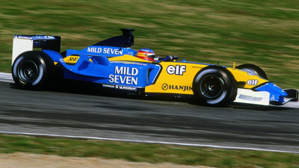 Die spanischen Alonso-Fans konnten sich mit den Renault-Farben sofort identifizieren