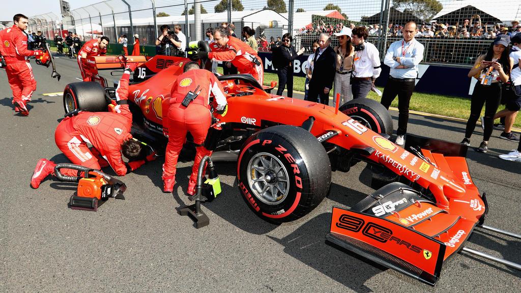 Vettel wurde für Melbourne als Favorit gehandelt, wurde aber nur Vierter