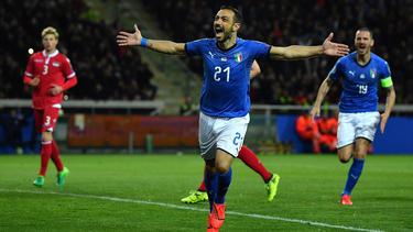 Die Italiener ließen gegen Lichtenstein nichts anbrennen