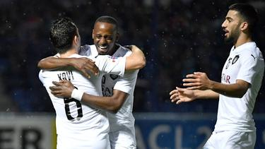 Xavi celebra uno de sus goles. (Foto: https://twitter.com/AlsaddSC)