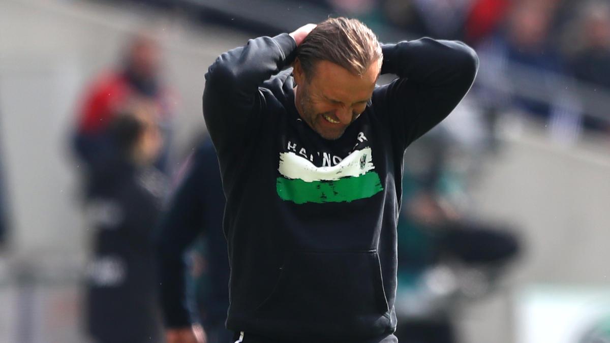 Thomas Doll steckt mit Hannover 96 im Abstiegskampf