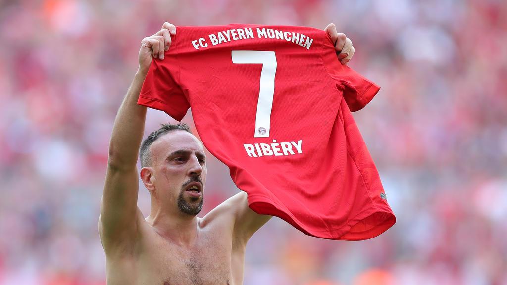 Franck Ribéry verließ den FC Bayern im Sommer