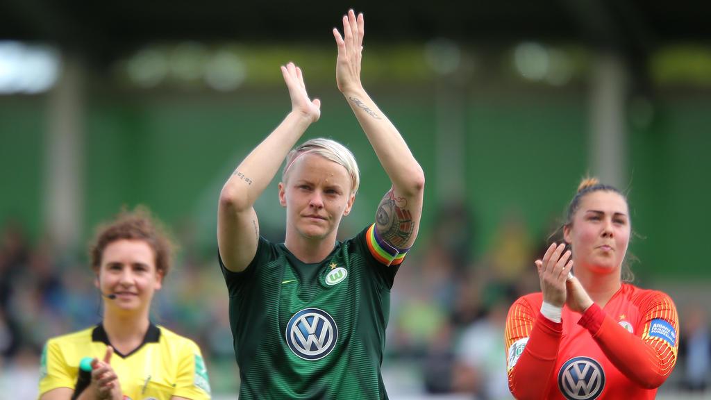 War beim VfL Wolfsburg Kapitänin:Die Schwedin Nilla Fischer