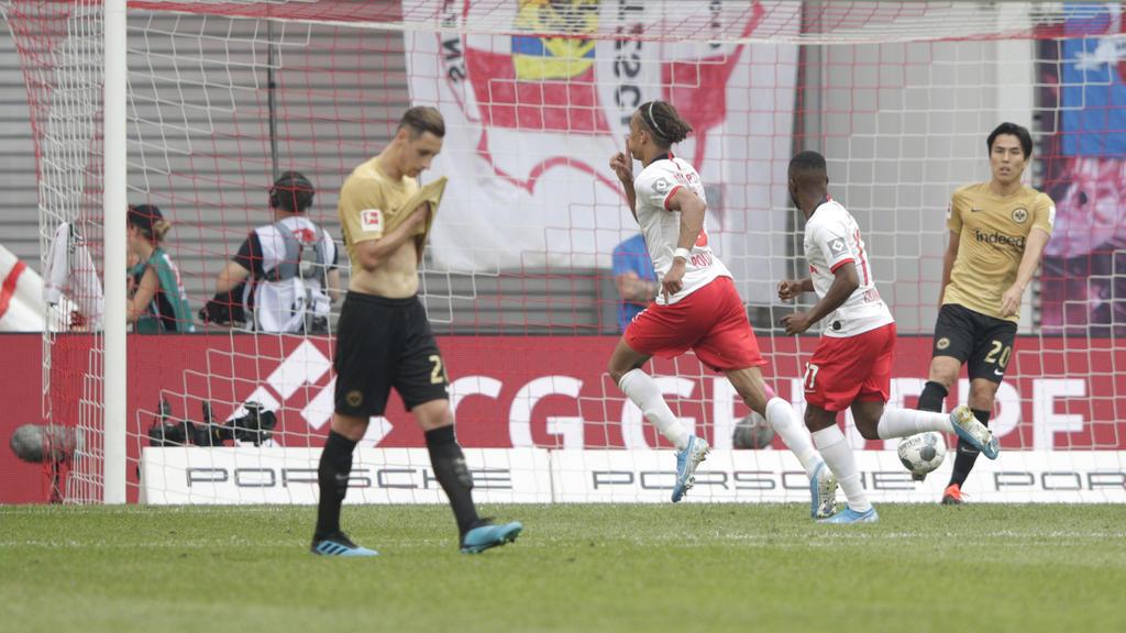 RB Leipzig hat gegen Eintracht Frankfurt den zweiten Saisonsieg gefeiert