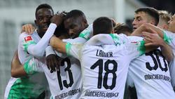 Gladbach hat Eintracht Frankfurt in einem Topspiel bezwungen