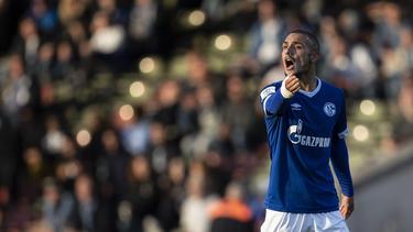 Ahmed Kutucu spielt seit der Jugend für Schalke 04