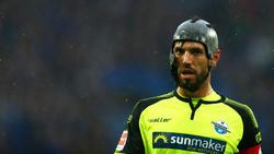 Nach verbüßter Gelbsperre wieder einsatzbereit: Paderborns Kapitän Klaus Gjasula