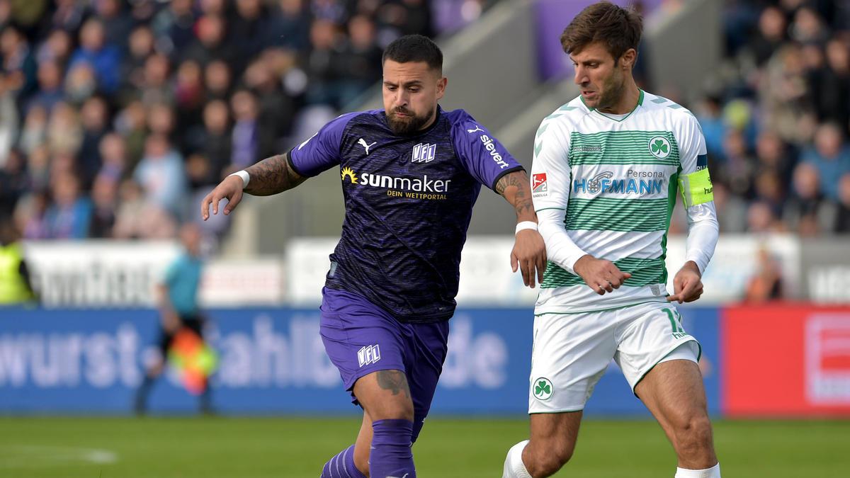 Marco Álvarez (l.) verlängert seinen Vertrag in Osnabrück nicht