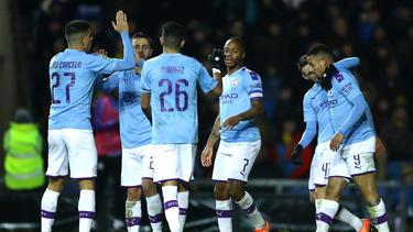 Manchester City jubelt über den Sieg