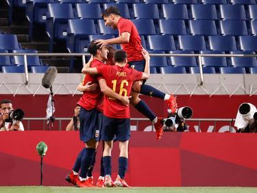 España pasa como primera de grupo.