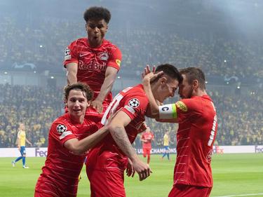 Salzburg schafft den Champions-League-Hattrick