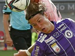 Timossi Andersson zählte bei Klagenfurt zu den gefährlichsten Spielern