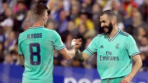 Real Madrid im Viertelfinale der Copa del Rey